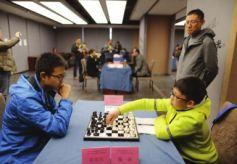 第十三届甘肃—青海象棋、围棋、国际象棋三棋对抗赛开赛