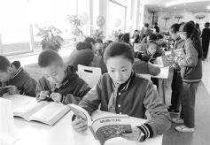 兰州市图书馆青少年分馆正式开放了
