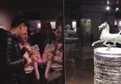 蘭州交大國際學生參觀甘肅省博物館