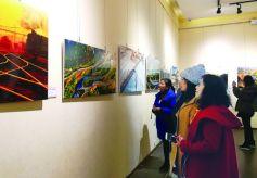 甘肃改革开放40周年摄影展在甘肃艺术馆开幕