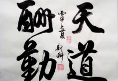 兰州书法名家林经文漫谈作品欣赏与创作