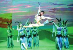 甘肃省歌舞剧院闯国际舞台展中国形象