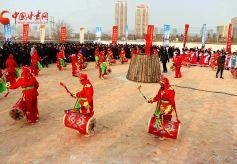 临夏马家庄乡村文化旅游节开幕