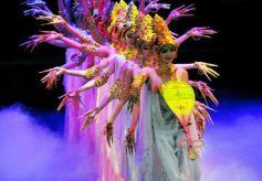 甘肃:元旦惠民演出季 经典舞剧 《丝路花雨》再度绽放