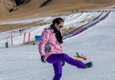 第六届金张掖冰雪旅游文化节系列活动开幕