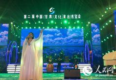 甘肃著名青年歌唱家常雅琼个人演唱会在兰州大学体育馆开唱