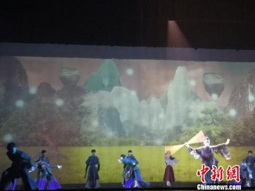 大型全息舞台剧亮相兰州观众身临其境赏艺术享故事