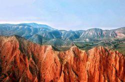 """甘肃省兰州市安宁区""""火焰山""""隐于市藏于山的壮美奇观"""