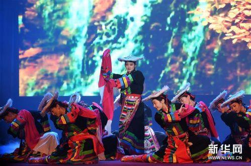 (文化)(3)民族歌舞《香巴拉之约》在兰州上演