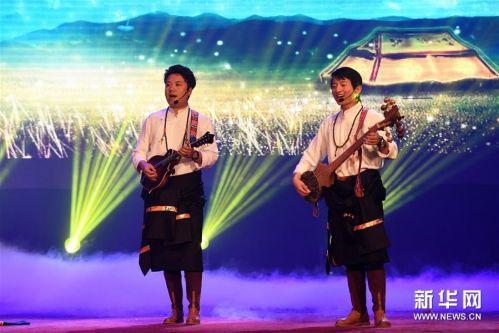(文化)(4)民族歌舞《香巴拉之约》在兰州上演