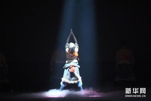 (文化)(1)民族歌舞《香巴拉之约》在兰州上演