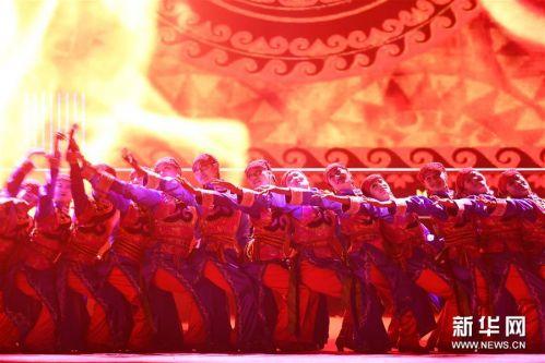 (文化)(8)民族歌舞《香巴拉之约》在兰州上演
