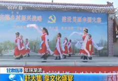 """甘肃临泽县新华镇""""乡村振兴·文化大集""""启动"""