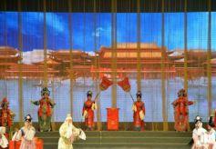 大型秦腔神话剧《金花传》在兰州石化文化宫开启华丽序幕