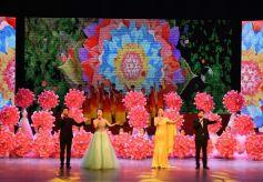民俗歌舞《乞巧情韵》在兰州黄河剧院精彩上演