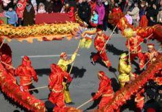 """甘肃敦煌传统民俗扎堆""""春节档期"""" 促古老非遗保护传承"""