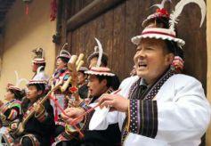 甘肃文县办白马民俗文化旅游节