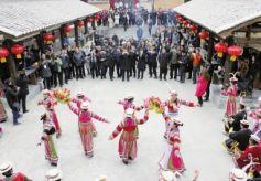 甘肃文县:民俗文化游驱动白马人的新时代