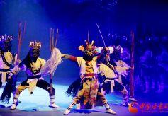 大型歌舞剧《白马·印记》在陇南文县剧院上演