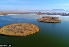 张掖国家湿地公园是甘肃省第一个国家湿地公园