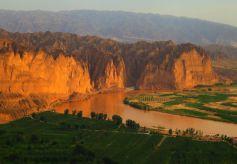 甘肃景泰在天津推介旅游资源和农特产品