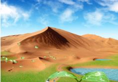 """武威凉州区举办""""我为沙漠捐棵树""""公益活动"""