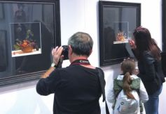 """""""丝绸之路古代石窟艺术精品展""""在纽约曼哈顿精彩亮相"""