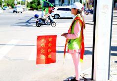 """甘肃金昌创建""""志愿之城""""纪实:""""红马夹""""扮靓文明城"""
