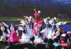 兰州民族中学民族文化艺术节拉开帷幕