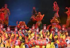 甘肃省白银市原创情景歌舞剧《黄河之上·多彩白银》在兰州上演