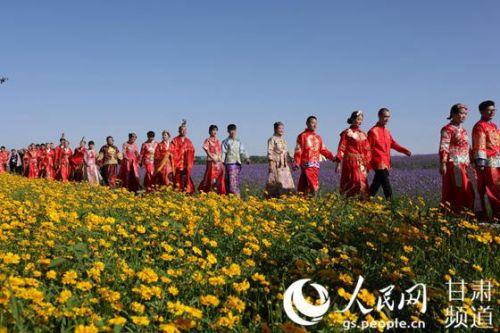 甘肃金昌:第五届薰衣草之约集体婚礼6月24日拉开序幕