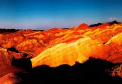 张掖世界地质公园创建进入最后冲刺阶段