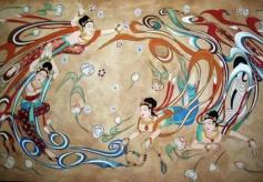 甘肃敦煌艺术团在兰州揭牌成立