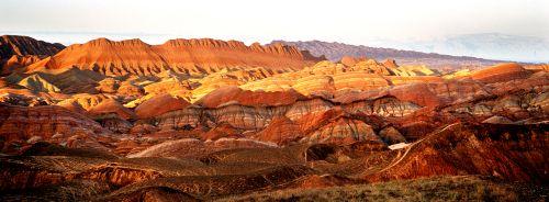 张掖国家地质公园彩色丘陵景区 - 复件(1)