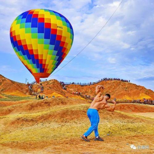 张掖国家地质公园 特色体验项目 ——热气球1 - 复件(1)