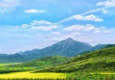 中国甘肃张掖生态旅游带动乡村振兴