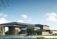 甘肃简牍博物馆在兰州市七里河区马滩文化岛开工建设