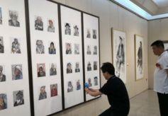 西北五省區畫作匯聚蘭州 畫家筆墨繪絲路風情展文化