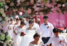 甘肃平凉市崆峒区婚嫁文化节正式拉开帷幕