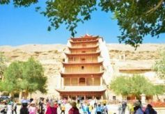 甘肃迎最大客流旅游旺季 日韩和东南亚游客激增
