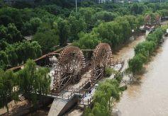 黄河兰州段水位回落 沿河部分旅游设施恢复开放