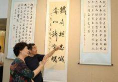 甘肅公安系統書法美術攝影作品展開展