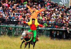甘肅藏區瑪曲舉行格薩爾賽馬節 延續千年藏族傳統文化