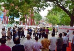 江苏山东甘肃三地书法名家提名展在天水开展