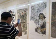 甘肃省中国画作品展开幕 百幅精品饱含美好祝愿