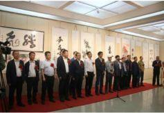 甘肅六建舉辦職工書法美術藝術博覽會