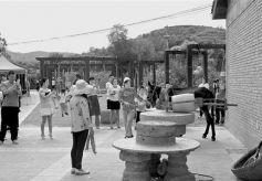 华亭市策底镇大南峪村大力发展乡村旅游