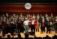 原創交響樂《永遠的綠洲——河西走廊》在第六屆絲之國際藝術節綻放