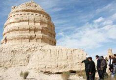 世界文化遗产甘肃锁阳城启塔尔寺遗址考古发掘