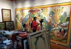 罗马尼亚国家电视台拍摄九色甘南文化旅游资源专题片